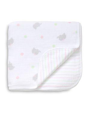 Little Me Infant Girls' Sweet Elephant Blanket