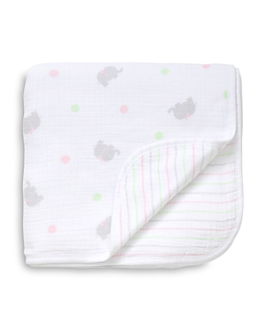 Little Me Infant Girls' Sweet Elephant Blanket