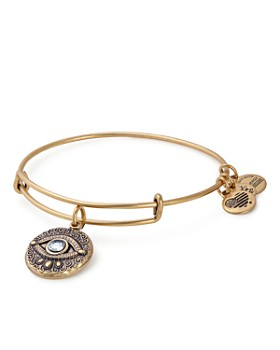 Alex and Ani - Evil Eye Expandable Wire Bangle