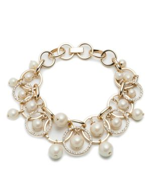 Carolee Shaky Links Bracelet