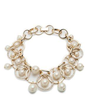Carolee Shaky Links Bracelet