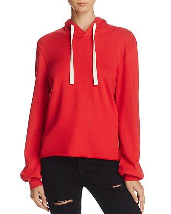Nation LTD - Raw-Edge Hooded Sweatshirt, Fashion Find - 100% Exclusive