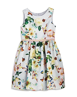 Pippa  Julie Girls Butterfly Floral Dress  Little Kid