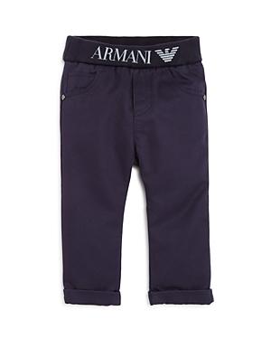 Armani Junior Boys ElasticizedLogoWaist Pants  Baby