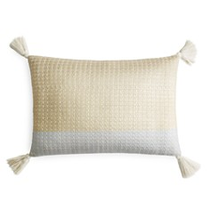 """Sky Chambray Metallic Decorative Pillow, 16"""" x 20"""" - 100% Exclusive - Bloomingdale's_0"""