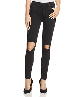 Black Orchid Gisele Ripped Skinny Jeans in Last Call