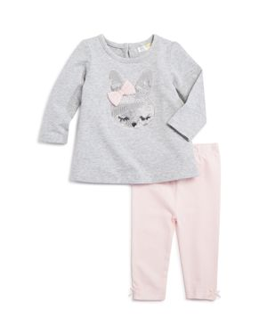Bloomie's Girls' Bunny Top & Leggings Set, Baby - 100% Exclusive