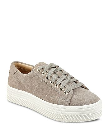 f6fcf9d7077a Marc Fisher LTD. - Women s Emmy Suede Lace Up Platform Sneakers