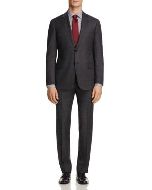 Armani Collezioni Multi Plaid Classic Fit Suit thumbnail