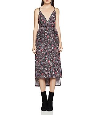 BCBGeneration High/Low Faux-Wrap Dress