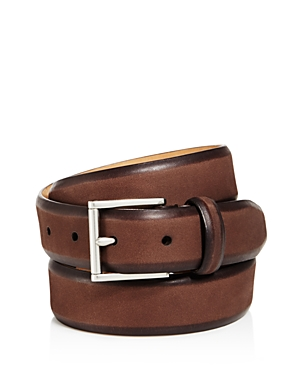 Cole Haan Hand-Burnished Nubuck Belt