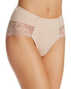 Fine Lines - Eva Support Hi-Cut Briefs