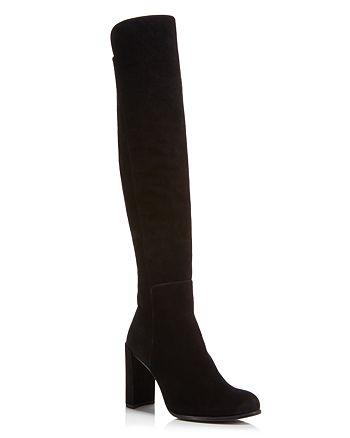 f46d6f16416 Stuart Weitzman - Women s Woman s Alljill Suede Over-the-Knee Boots