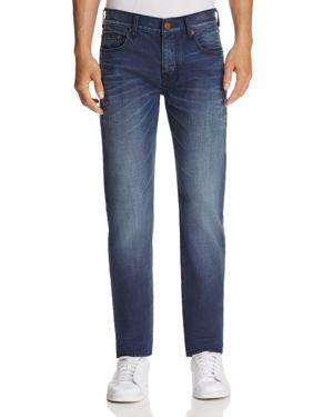 True Religion Rocco Blue Mariner Slim Fit Jeans in Dark Blue