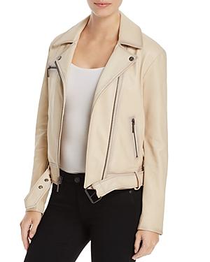 Kenneth Cole Leather Moto Jacket