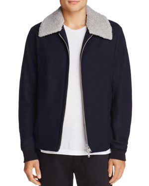 Theory Wool Bomber Jacket