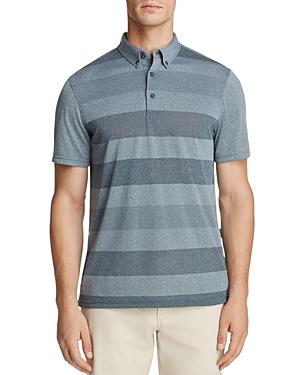 Ag Green Label Hansen Striped Short Sleeve Regular Fit Polo Shirt