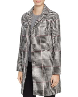 LOUISE PARIS HOUNDSTOOTH CHECK COAT - 100% EXCLUSIVE
