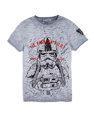 Courage & Kind Boys' Fighter Pilot Star Wars Tee, Little Kid - 100% Exclusive