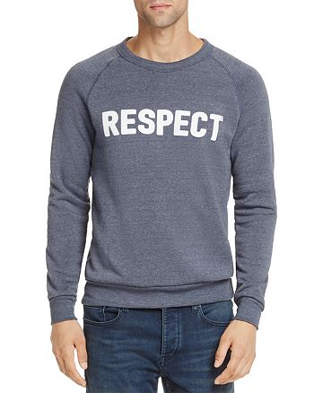 Rosser Riddle - Respect Crewneck Sweatshirt