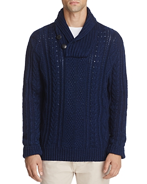 Oobe Seaborne Cable-Knit Pullover Sweater