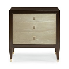 Bloomingdale's Silver Leaf Nightstand - 100% Exclusive_0