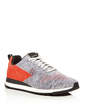 Paul Smith Rappid Knit Lace Up Sneakers
