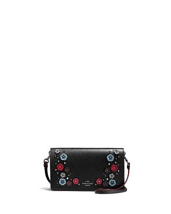 COACH - Willow Floral Foldover Crossbody