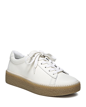 Vince Neela Leather Lace Up Platform Sneakers