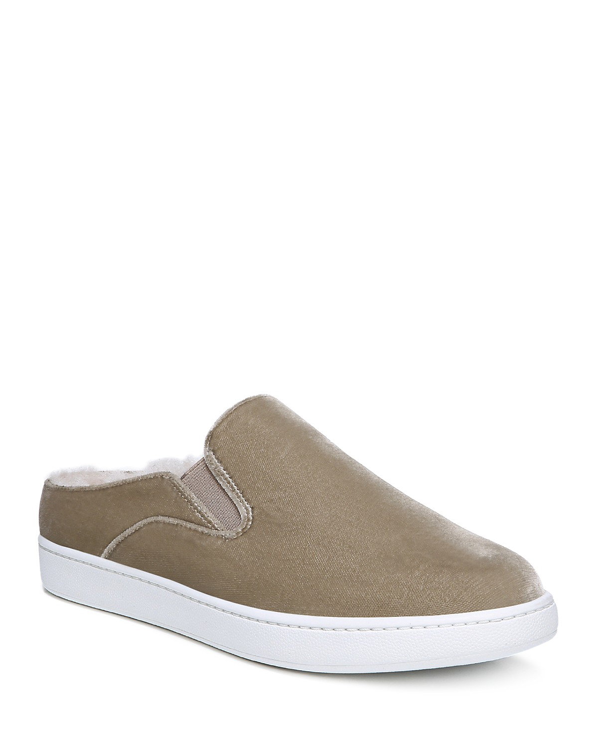 Vince Verrell Velvet and Shearling Sneaker Mule - 100% Exclusive Get To Buy Cheap Online Stockist Online Cheap Best Prices Cheap Sale Low Shipping Fee New Cheap Price y8Ua6uO