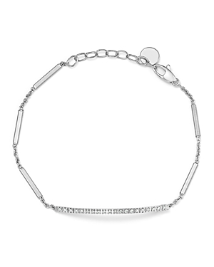 Marco Bicego 18K White Gold Goa Diamond Chain Bracelet-Jewelry & Accessories