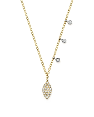 Click here for Meira T 14K White and Yellow Gold Diamond Mini Mar... prices
