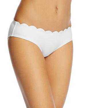 kate spade new york Scalloped Hipster Bikini Bottom