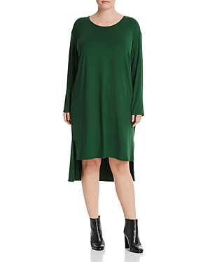 Eileen Fisher Plus High Low Tee Dress