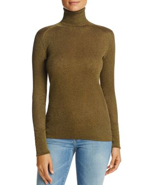 Tory Burch Lana Ribbed Turtleneck Sweater