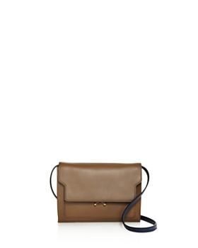 Marni - Trunk Mini Leather Crossbody