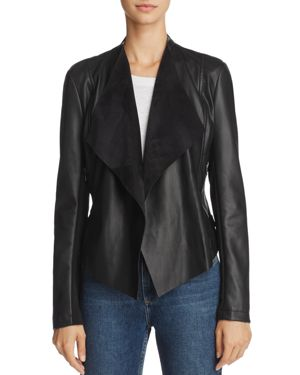 French Connection Stephanie Pu Faux-Leather Jacket