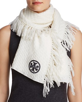 Tory Burch - Textured Jacquard Oblong Scarf