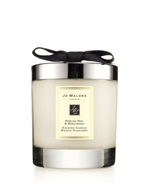 English Oak & Redcurrant Scented Home Candle, 200G, Colorless