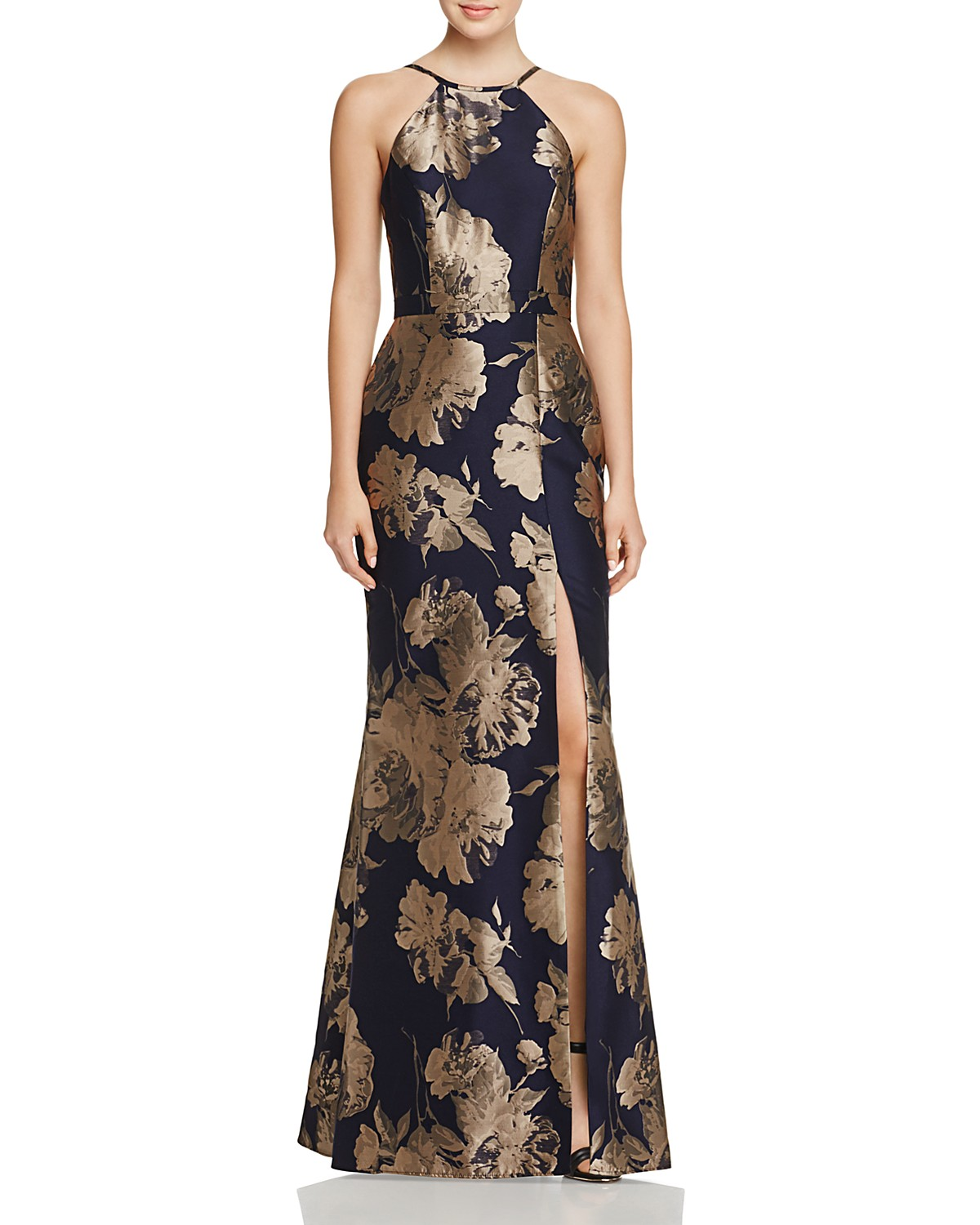 Avery G Floral Brocade Gown | Bloomingdale\'s