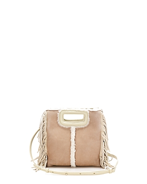 Maje Sheepskin Crossbody