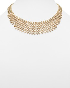 Bloomingdale's - 14K Yellow Gold Shimmering Beaded Bib Necklace - 100% Exclusive