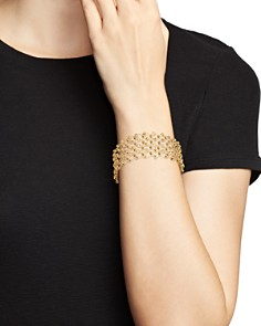 Bloomingdale's - 14K Yellow Gold Beaded Statement Bracelet - 100% Exclusive