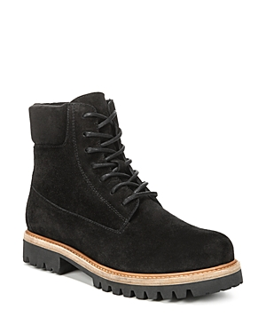 Vince Women's Farley Suede Lace Up Combat Boots