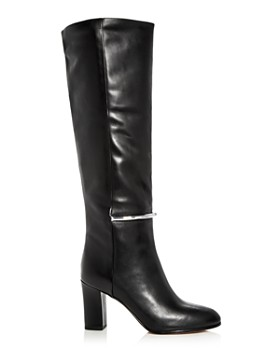 Via Spiga - Women's Shaw Leather Tall High-Heel Boots