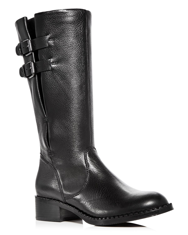 Kenneth Cole Gentle Souls Women's Brian Leather Low Heel Boots