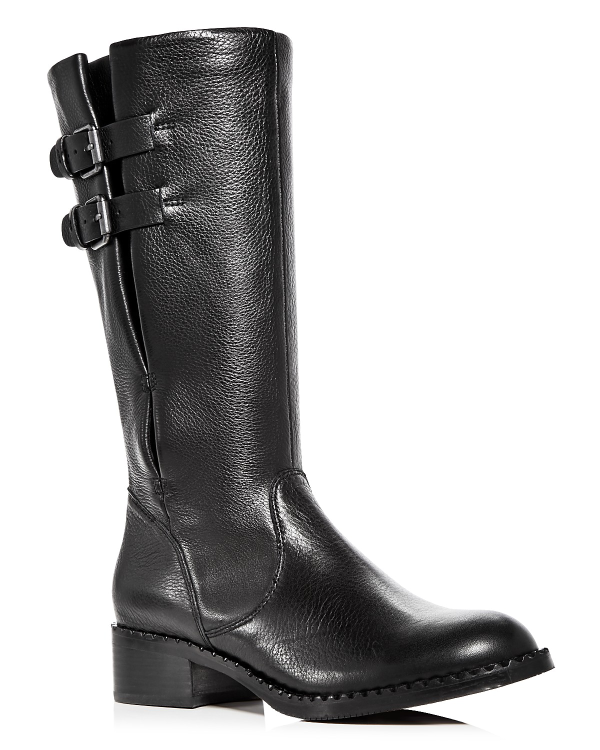 Kenneth Cole Gentle Souls Women's Brian Leather Low Heel Boots 99ANxPG