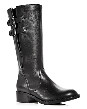 Gentle Souls Women's Brian Leather Low Heel Boots