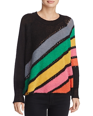 Wildfox Mirage Spell Striped Sweater