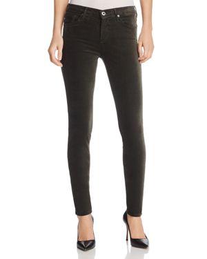Ag Jeans Super Skinny Velvet Leggings in Climbing Ivy 2707390